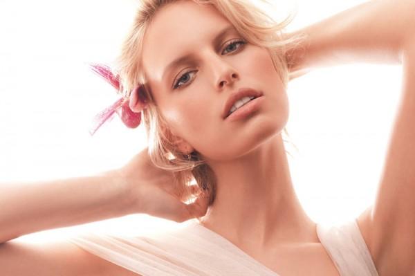 Karolina Kurkova Is Ethereal in Stockton Johnson's Vogue China Shoot