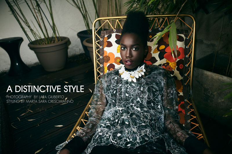 Lily by Lara Giliberto in 'A Distinctive Style' for Fashion Gone Rogue