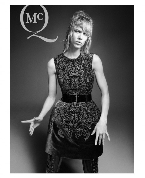 Aymeline Valade Fronts McQ by Alexander McQueen's Fall 2012 Campaign by David Sims