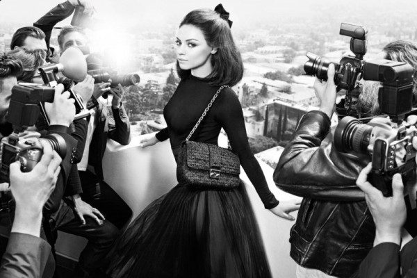 Mila Kunis Returns as the Face of Miss Dior's Fall 2012 Campaign by Mario Sorrenti