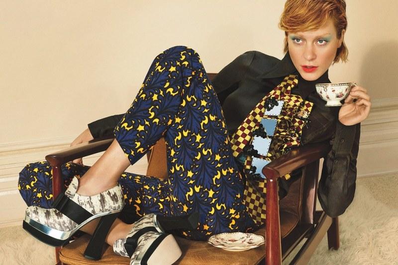 Chloe Sevigny Stars in Miu Miu's Fall 2012 Campaign by Mert & Marcus