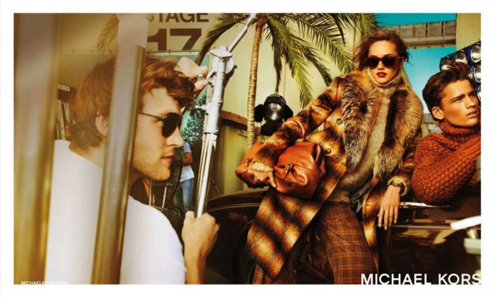 Karmen Pedaru Heads to Hollywood for Michael Kors' Fall 2012 Campaign by Mario Testino