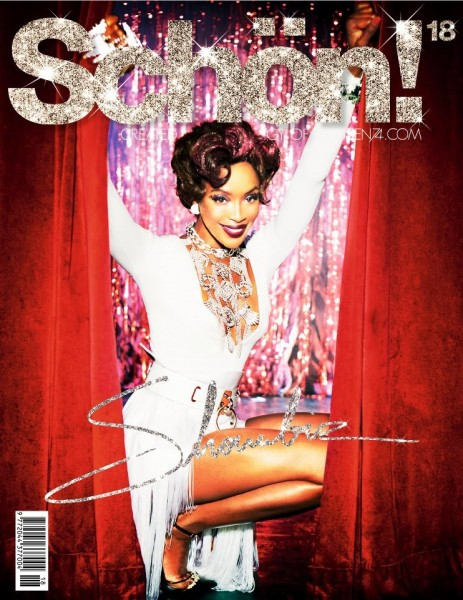 Naomi Campbell Shines on the Cover of Schön #18 by Ellen von Unwerth