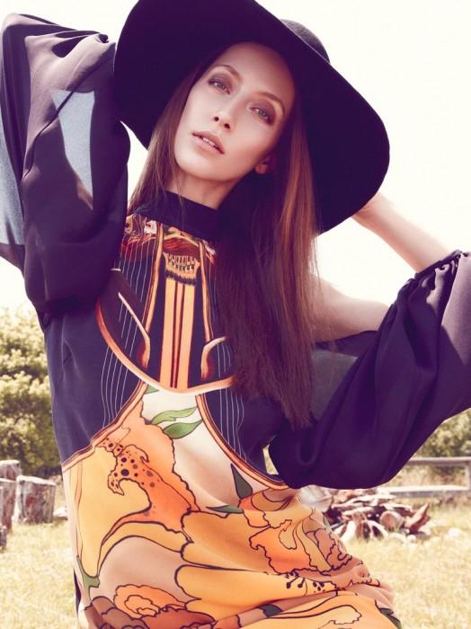 Alana Zimmer Soaks Up the Sun for Nicole Miller's Fall 2012 Campaign by Nagi Sakai