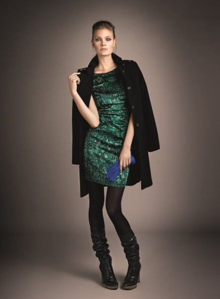 Constance Jablonski Models Oui's Fall 2012 Collection