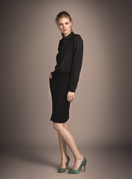 Constance Jablonski Models Oui's Fall 2012 Collection