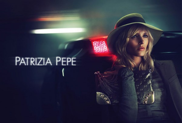 Anja Rubik Is Seventies Chic for Patrizia Pepe's Fall 2012 Campaign by Mert & Marcus