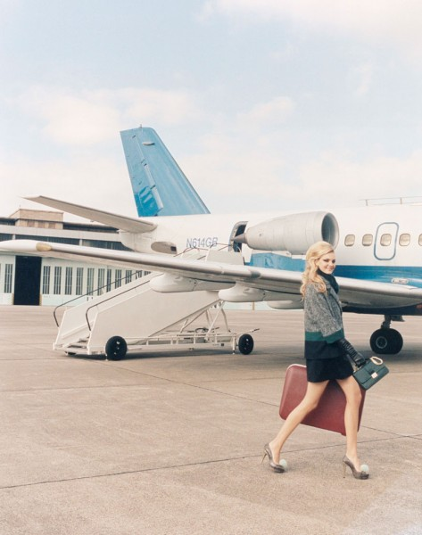 Caroline Trentini Lives the Jet Set Life for Paule Ka's Fall 2012 Campaign by Venetia Scott