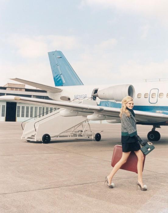 Caroline Trentini Lives the Jet Set Life for Paule Ka's Fall 2012 Campaign by Venetia Scott