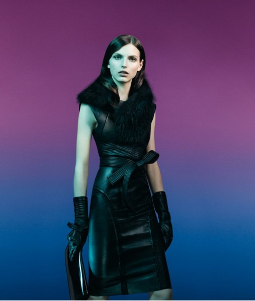 Karlina Caune Fronts Sportmax's Fall 2012 Campaign