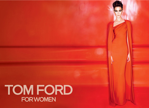 Kati Nescher Stars in Tom Ford's Fall 2012 Campaign