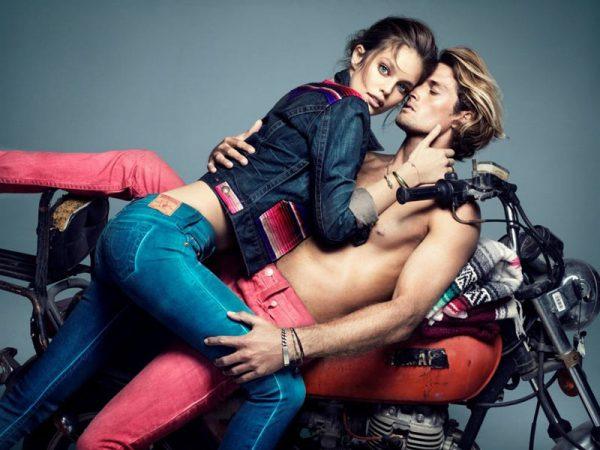 Emily DiDonato Heats Up True Religion's Fall 2012 Campaign by Nino Muñoz