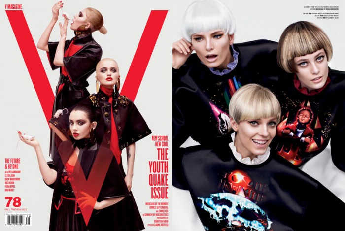 V Magazine Taps Sky Ferreira, Grimes, Charli XCX & Others for its 'Youthquake Issue'