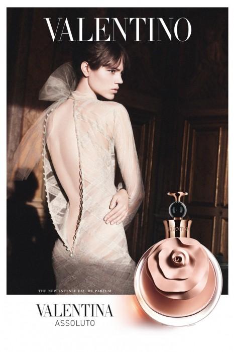 Freja Beha Erichsen Stars in Valentino's 'Valentina Assoluto' Fragrance Campaign by David Sims
