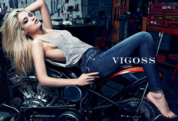 Sky Ferreira Smolders in Vigoss' Fall 2012 Campaign by Mario Sorrenti