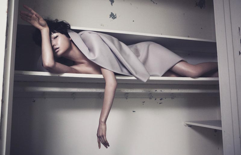 Wang Xiao Hangs Out in Marcus Ohlsson's Vogue China Shoot