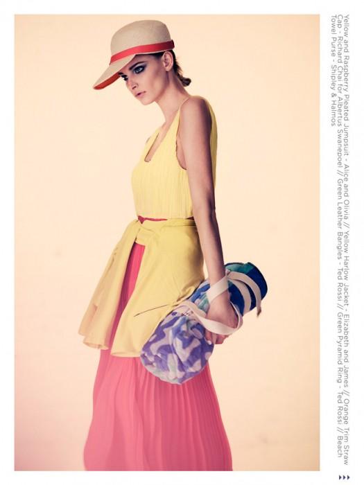 Justin Hollar Lenses Anna Rachford in Kaleidoscopic Color for Citizen NY