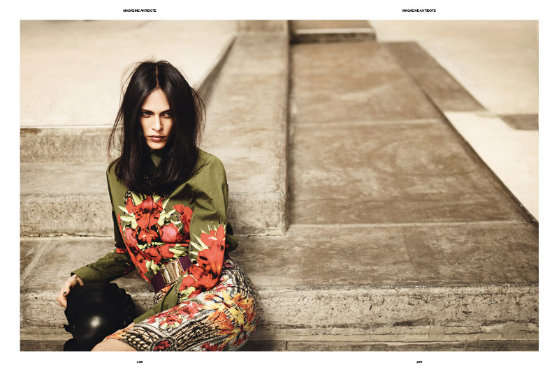 Aymeline Valade Goes Skater Girl for Antidote's Icon Issue