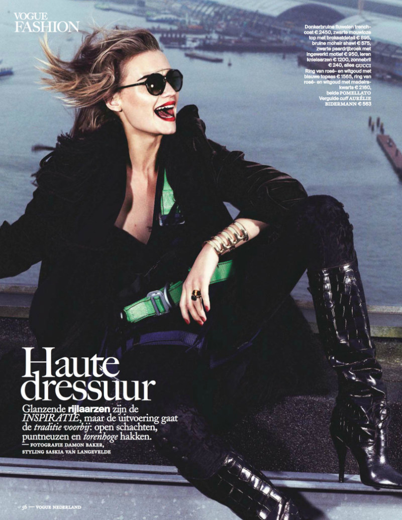 5141ca0b Damon Baker Captures Colorful Fall Style for Vogue Netherlands September  2012