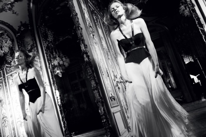 Eva Herzigova is an Elegant Icon in Antidote Magazine's Spring/Summer Issue