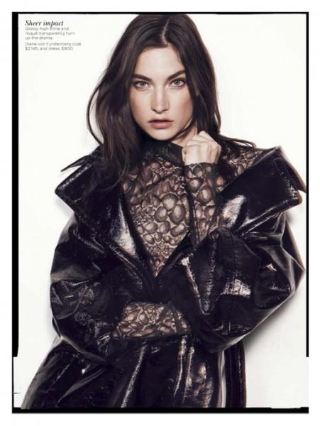 Jacquelyn Jablonski is Ready for Fall in Vogue Australia September 2012 by Benny Horne