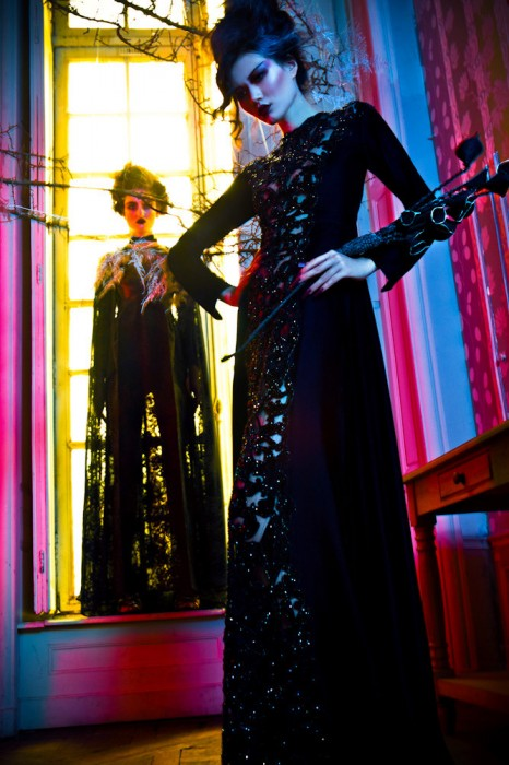 Pauline Van Der Cruysse & Zhu Lin Star in a Couture Fairytale for L'Officiel China by Michelle du Xuan
