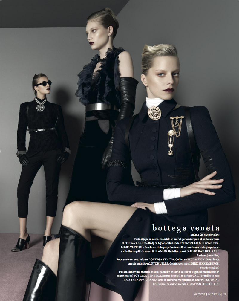 Jonathan Segade Lenses the Best of the Fall Collections for L'Officiel Paris August 2012