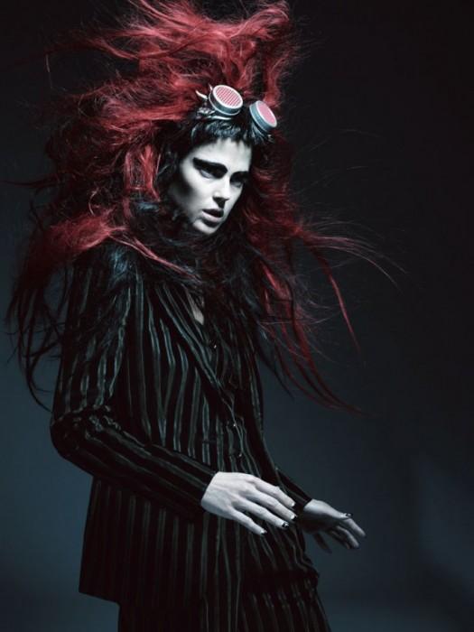 Shannan Click Goes Wild for Dazed & Confused September 2012