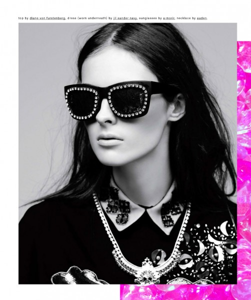Andrew Stinson Captures Ultra Embellished Style for Nylon September 2012