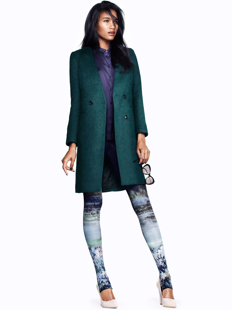 Arlenis Sosa Dons Fall Looks for H&M's Latest Trend Update