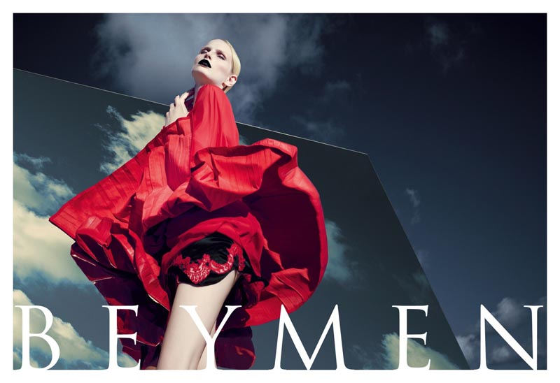 Katrin Thormann Marvels in the Beymen Fall 2012 Campaign by Koray Birand