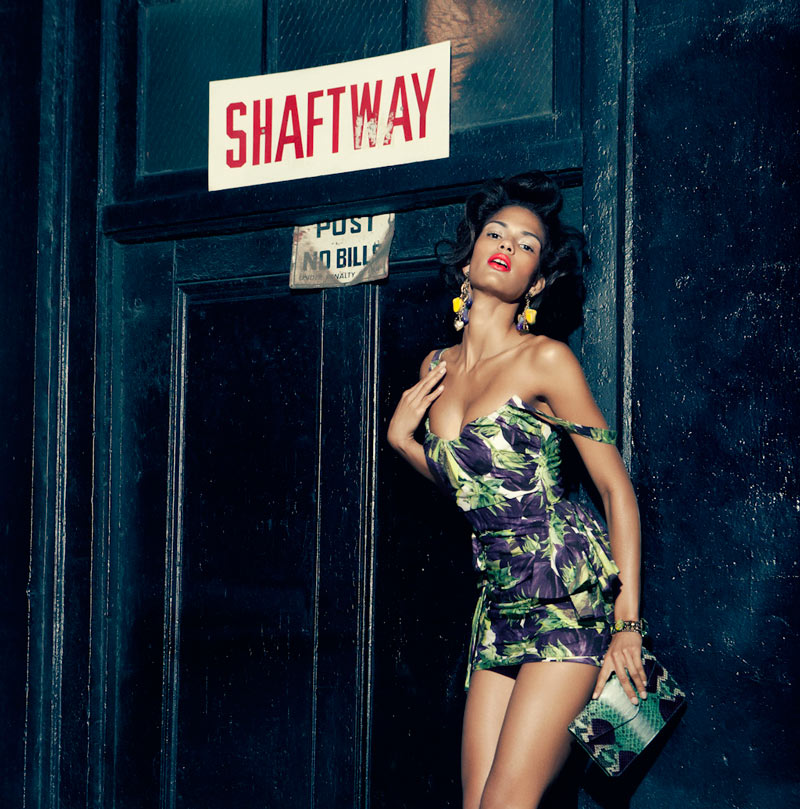 "Cris Urena by Alexander Neumann in ""Maybe Tonight"" for Fashion Gone Rogue"