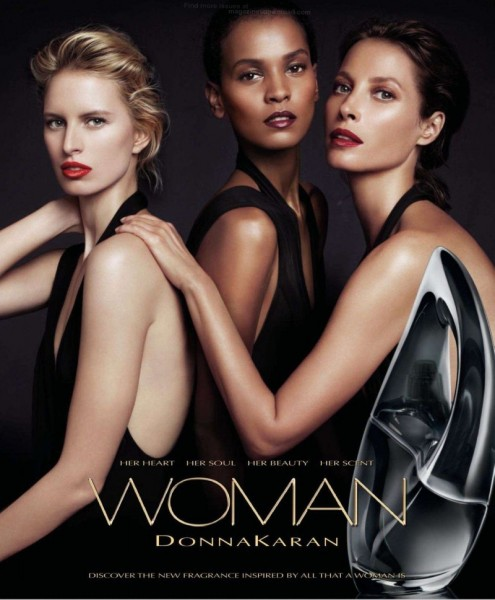 "Christy Turlington, Liya Kebede & Karolina Kurkova Front Donna Karan's ""Woman"" Fragrance Campaign"