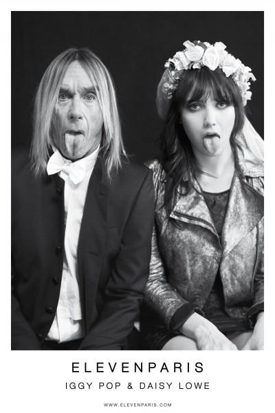 Daisy Lowe & Iggy Pop Star in Eleven Paris' Fall 2012 Campaign