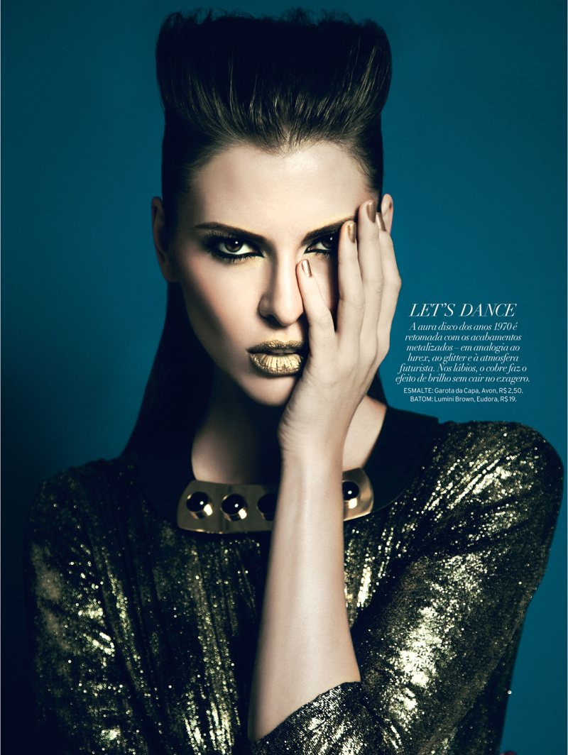 Yossi Michaeli Captures Rock & Glam Looks for Elle Brazil
