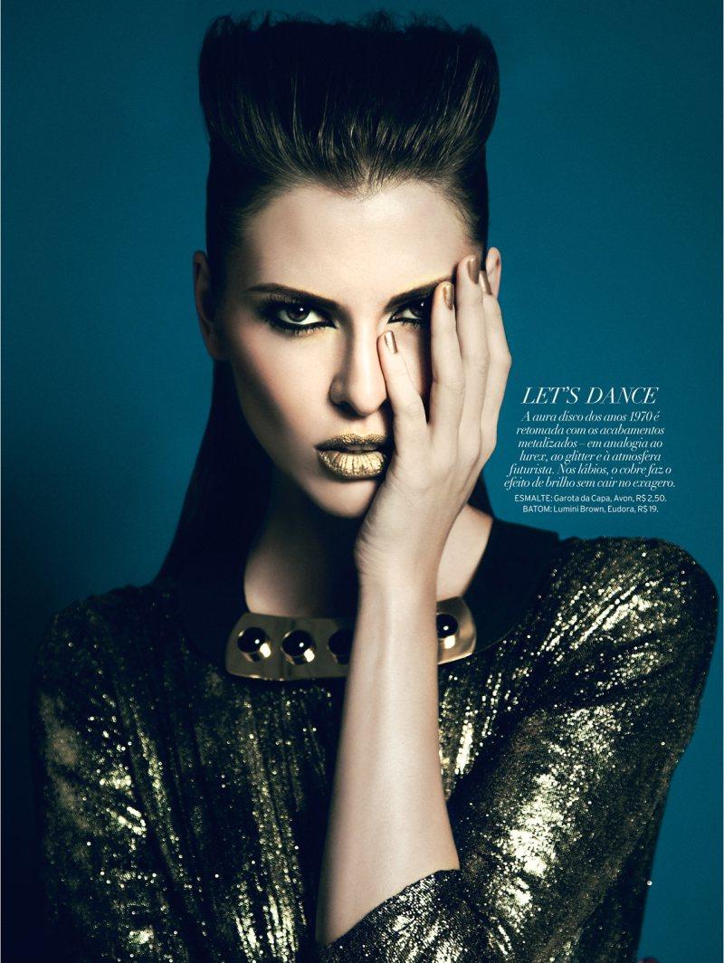 Yossi Michaeli Captures Rock & Glam Looks for Elle Brazil