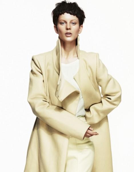 Ellinore Erichsen is Cool in Pastels for Elle Sweden by Andreas Öhlund