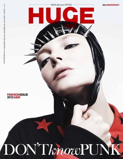 Eniko Mihalik Covers Huge Magazine in Stars & Spikes