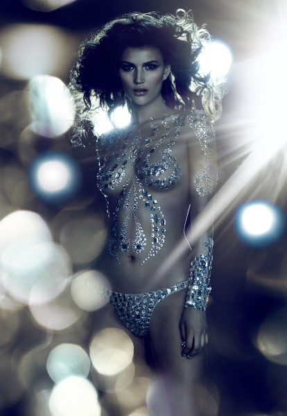 Tara Gill Shines in Fashion Cares' 25th Anniversary Campaign by Chris Nicholls