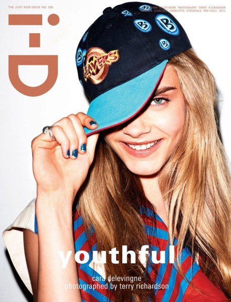 Charlotte Free, Cara Delevingne & Kelly Mittendorf Cover i-D's Pre-Fall 2012 Issue