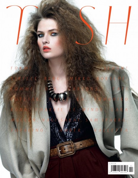 Lara Mullen Evokes 80s Power Dressing with Tush's Fall 2012 Cover