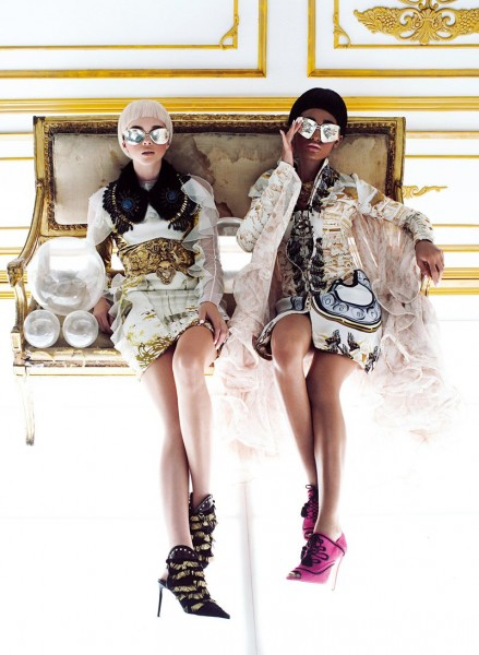 Chris Nicholls Captures Sci-fi Extravagance for Flare's September 2012 Issue