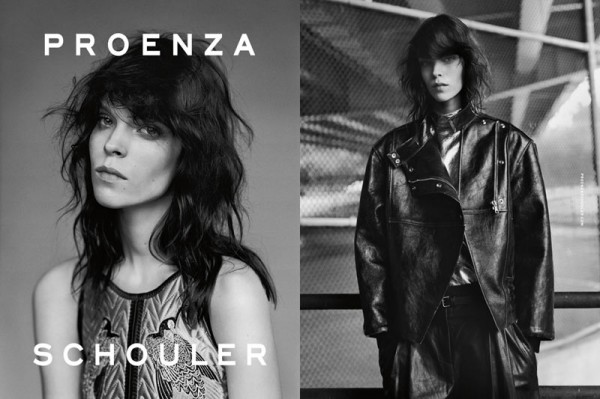 Meghan Collison Fronts Proenza Schouler's Fall 2012 Campaign by Alasdair McLellan