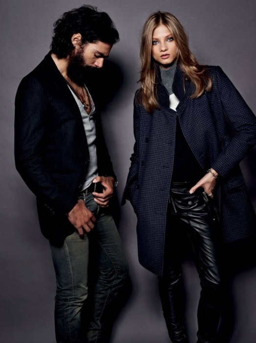 Anna Selezneva Sports Boyish Looks for Set's Fall/Winter 2012 Collection