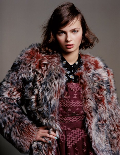 Alasdair McLellan Captures Rising Stars for Topshop's Fall 2012 Campaign