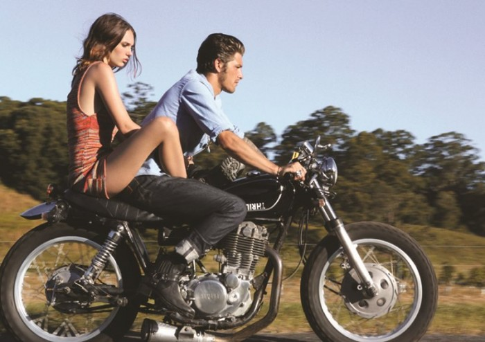 Emily Jean Bester is Free-Spirited for Wrangler's Spring 2012/2013 Campaign