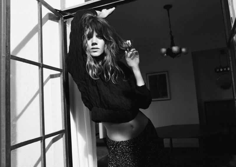Freja Beha Erichsen is Hippie Chic for Zara's Fall 2012 Campaign