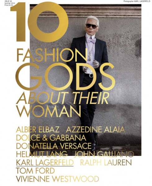 <em>10</em> Summer 2010 | 10 Years, 10 Covers, 10 Fashion Gods
