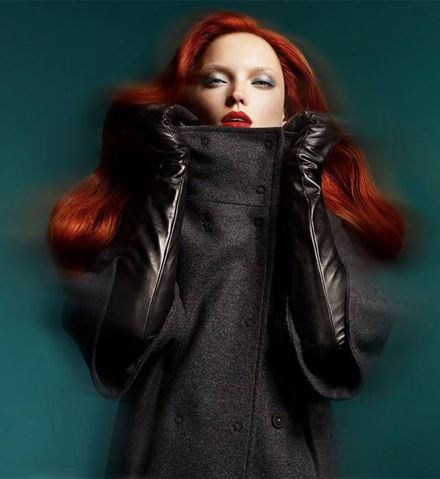 Naty Chabanenko Plays Fiery Bombshell for Atalar's F/W 2012 Campaign by Nihat Odabasi
