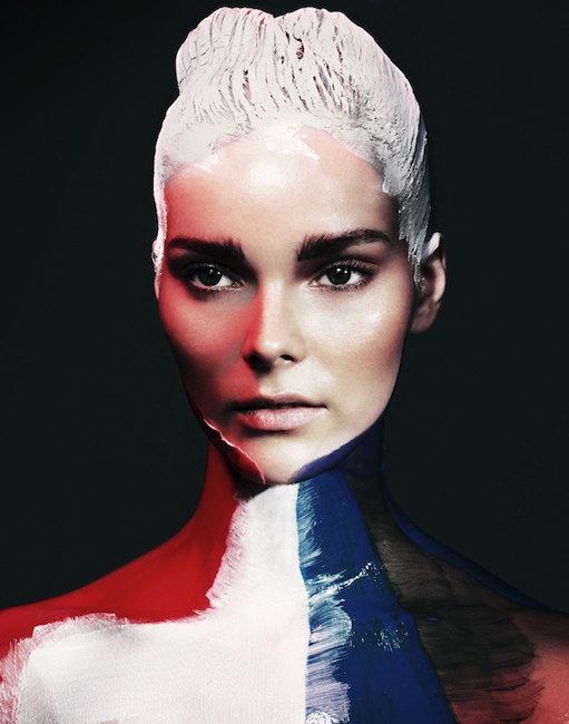 Julia Valimaki is a Work of Art for Wonderland September/October 2012 by Bjarne Jonasson